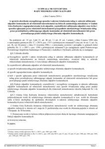 UCHWAŁA NR XXVI/207/2016 RADY MIEJSKIEJ GÓRY KALWARII z dnia 2 marca 2016 r. w sprawie określenia szczegółowego sposobu i zakresu świadczenia usług w zakresie odbierania odpadów komunalnych od właścicieli nieruchomości na których zamieszkują