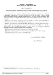 UCHWAŁA NR LII/546/2017 RADY MIEJSKIEJ GÓRY KALWARII z dnia 27 września 2017 r. w sprawie regulaminu utrzymania czystości i porządku na terenie Gminy Góra Kalwaria