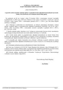 UCHWAŁA NR XI/80/2019 RADY MIEJSKIEJ GÓRY KALWARII z dnia 8 kwietnia 2019 r. w sprawie wyboru metody ustalania opłaty za gospodarowanie odpadami komunalnymi na terenie Gminy Góra Kalwaria oraz ustalenia stawki takiej opłaty